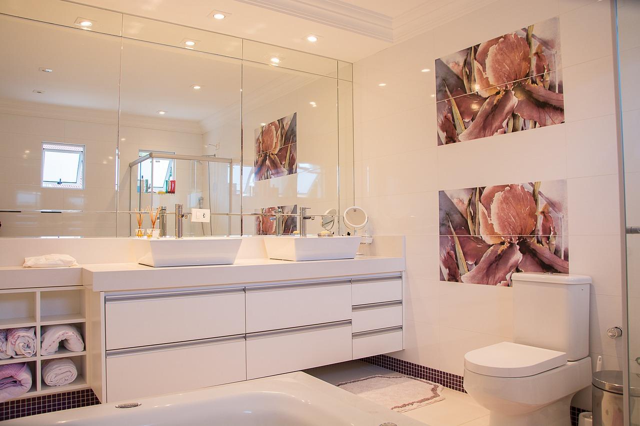 Piękno małych łazienek