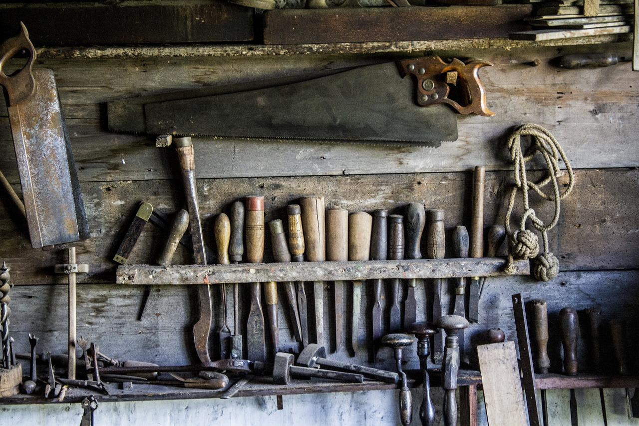 Pomysł na domek narzędziowy