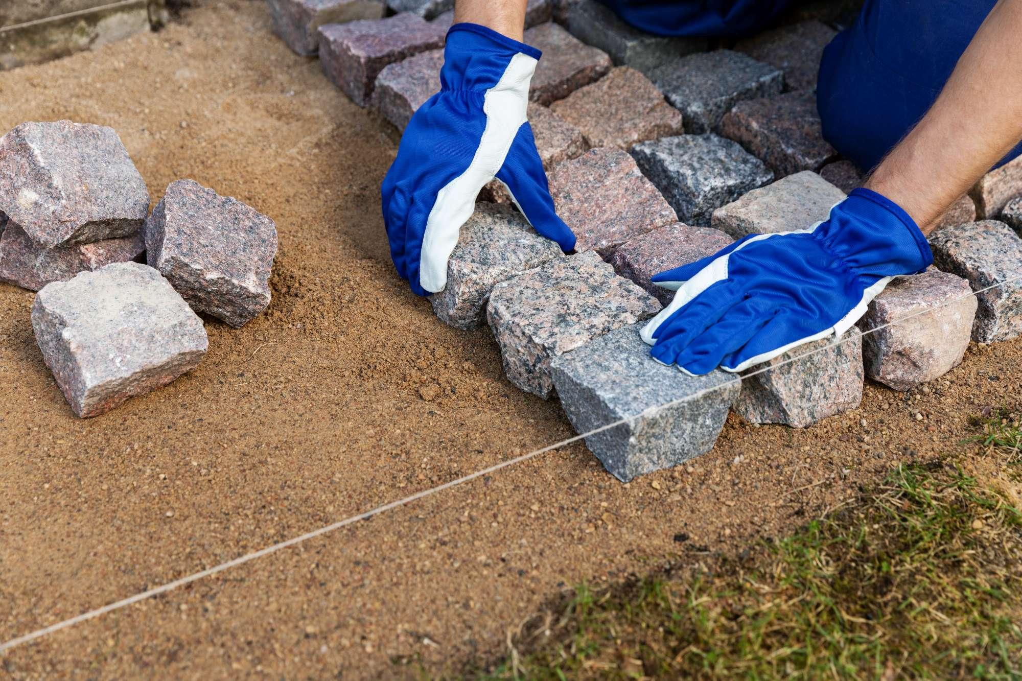 Materiał na chodnik, plac lub ogród